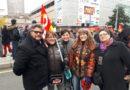Ce16 novembre 2017, des milliers de manifestants en RA contre les ordonnances Macron