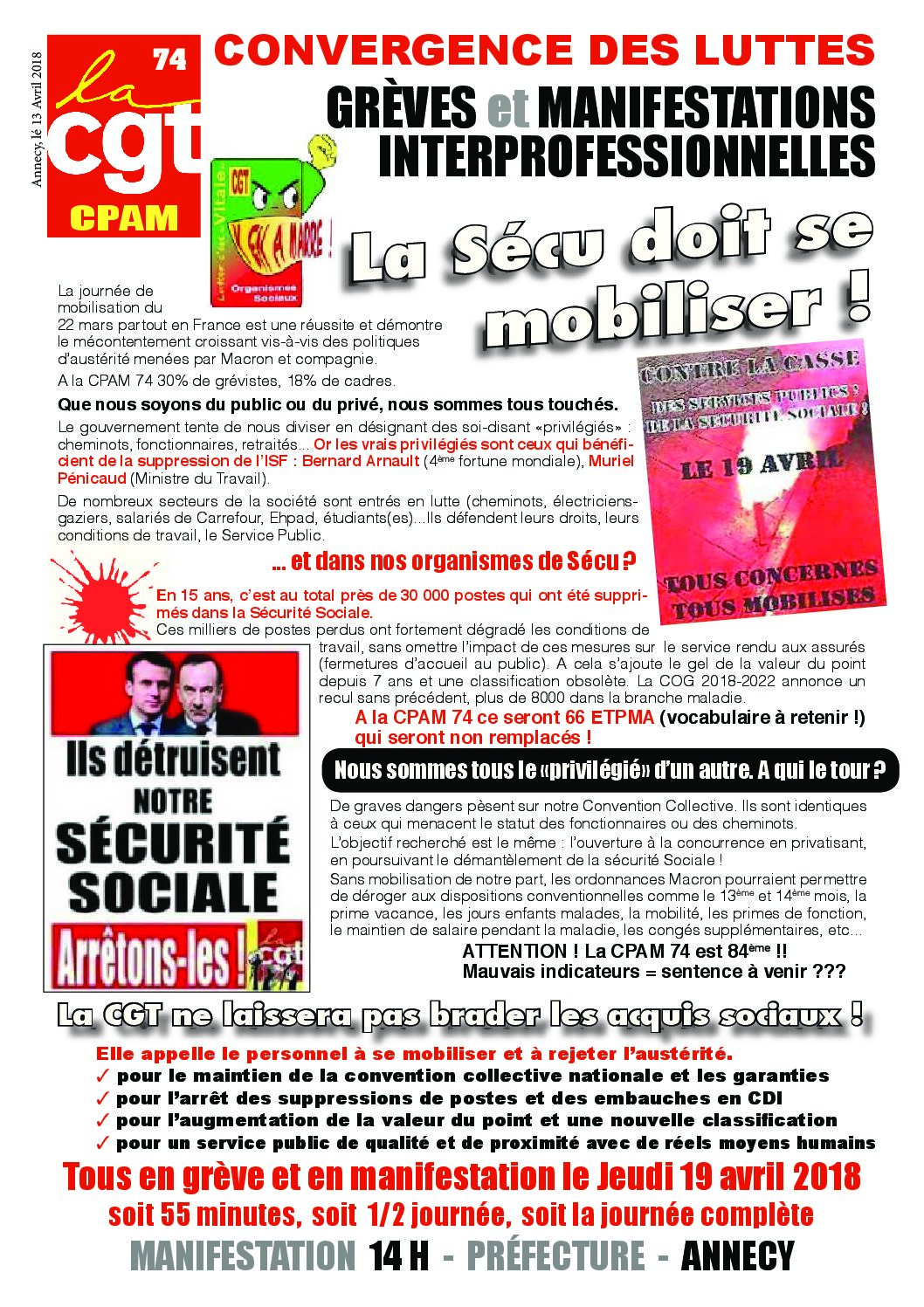 Tract 19 avril 2018 CPAM 74