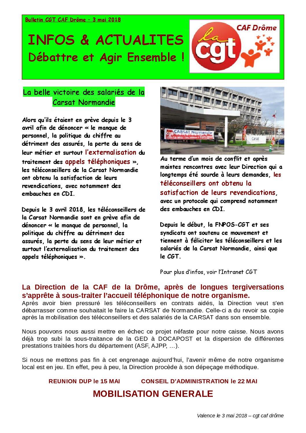 Bulletin de la CAF 26