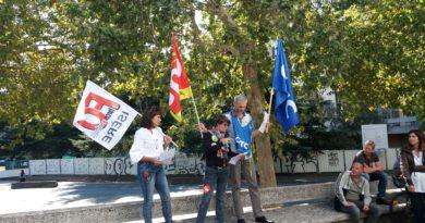 9/10/2018 Rassemblement devant la CPAM de l'ISERE