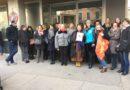 29 JANVIER : Rassemblement du personnel devant la MSA 69