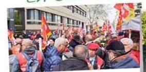 4 AVRIL 2019 : Les camarades des Organismes Sociaux au côté de ceux de la Santé pour défendre nos conquis sociaux