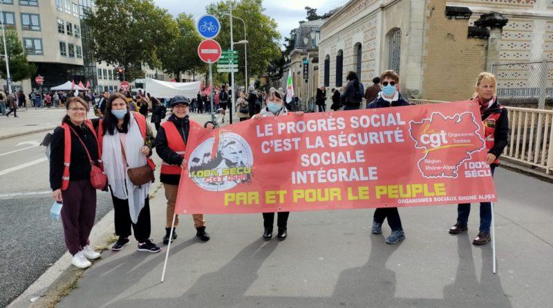 Mouvement du 05 octobre dans les Organismes Sociaux de Rhône-Alpes